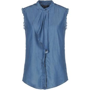 《セール開催中》AVANTGAR DENIM by EUROPEAN CULTURE レディース デニムシャツ ブルー S 指定外繊維(テンセル) 100%