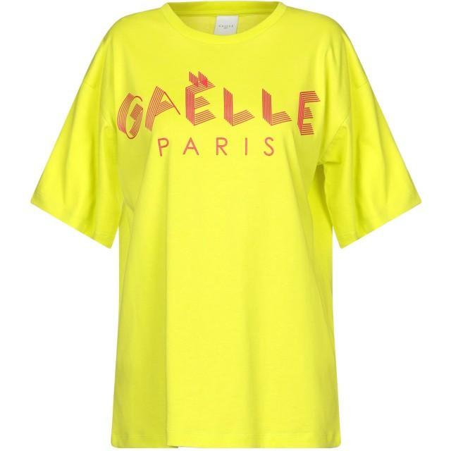《セール開催中》GALLE Paris レディース T シャツ ビタミングリーン 0 コットン 100%