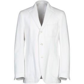 《セール開催中》LARDINI メンズ テーラードジャケット ホワイト 52 コットン 100%