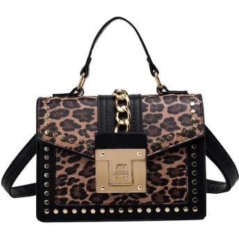 QTMIAO-Bags 女性のファッションメッセンジャーバッグ多目的な小さな正方形の袋に印刷ショルダーバッグ、レディースショルダーバッグ (Color : 03, Size : 21915cm)