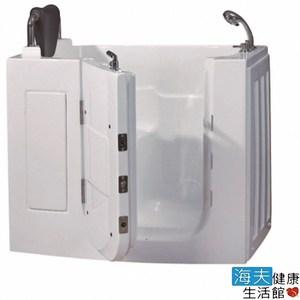【海夫】開門式浴缸 108S-R 氣泡按摩款_110*63*92cm