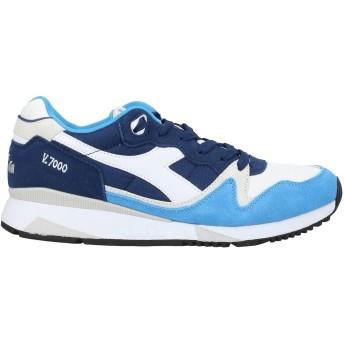 《セール開催中》DIADORA メンズ スニーカー&テニスシューズ(ローカット) ブルー 6.5 紡績繊維 / 革