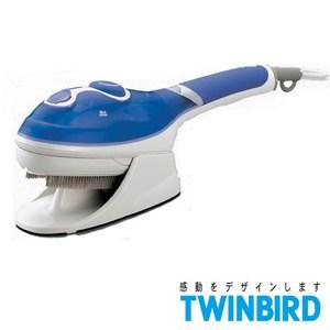 日本TWINBIRD 手持式蒸氣熨斗(藍) SA-4084TW