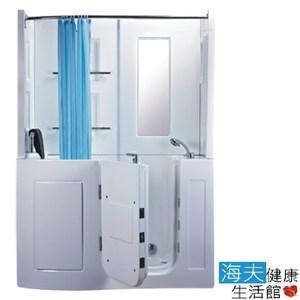 【海夫】開門式浴缸 106B-T恆溫水柱按摩款152*81*208cm