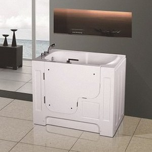 【海夫】開門式浴缸外開 輪椅專用 115A標準款_132*74*112