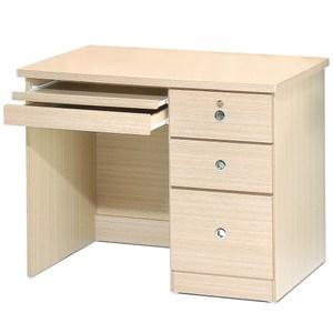 Homelike 好學生電腦桌(白橡木紋)