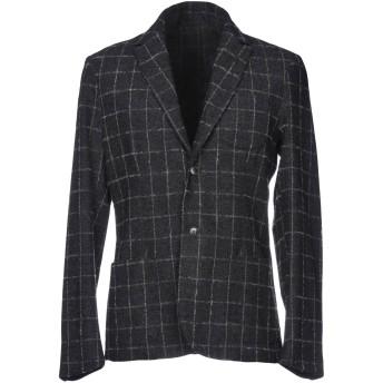 《セール開催中》TRUSSARDI JEANS メンズ テーラードジャケット スチールグレー 48 ウール 65% / ポリエステル 30% / 指定外繊維 5%