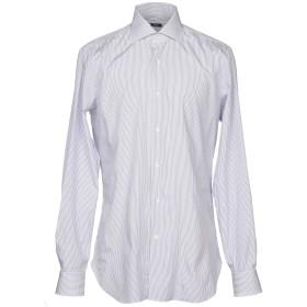 《セール開催中》BARBA Napoli メンズ シャツ ホワイト 42 コットン 100%
