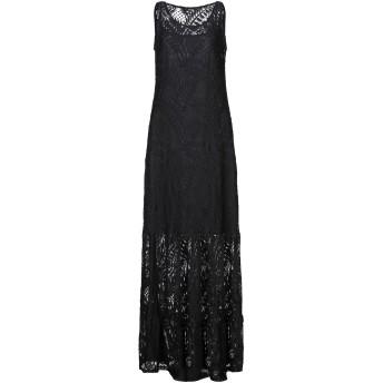 《セール開催中》GUESS レディース ロングワンピース&ドレス ブラック L ナイロン 100%