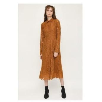 スライ SLY LACE SH DRESS (キャメル)