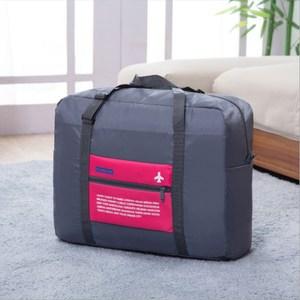 PUSH!旅遊用品防水尼龍折疊收納袋S76玫紅玫紅