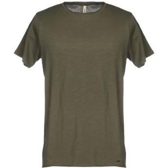 《セール開催中》RANSOM メンズ T シャツ ミリタリーグリーン L コットン 100%