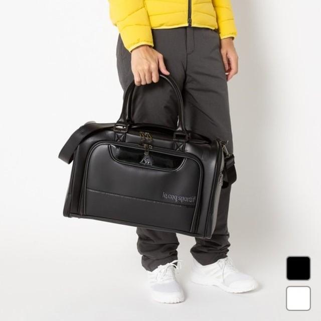 マンシングウェア スクェア型 ボストンバッグ シューズポケット ショルダーベルト付き メンズ ゴルフ Munsingwear