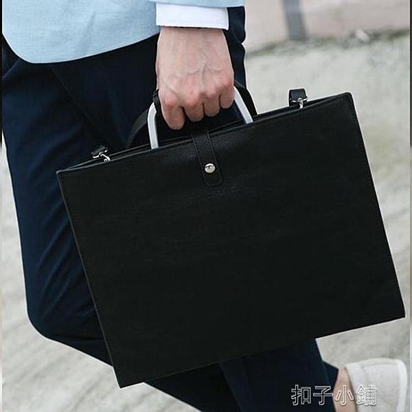 韓版男包英倫復古包男士女士手袋Ipad公文包手提單肩文件包商務包 【全館免運】