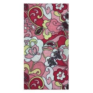 【A-Magic】台製頭巾-粉紅花園