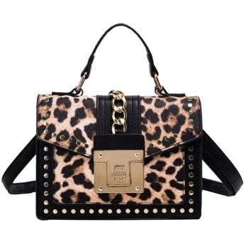 QTMIAO-Bags 女性のファッションメッセンジャーバッグ多目的な小さな正方形の袋に印刷ショルダーバッグ、レディースショルダーバッグ (Color : 04, Size : 21915cm)