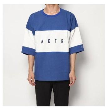 アクター AKTR バスケットボール 半袖Tシャツ BLOCK PATTERN CUT SEW 119-019005