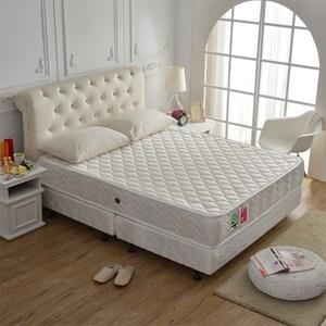 【睡芝寶】3M防潑水抗菌高蓬度機能獨立筒床墊單人3.5尺