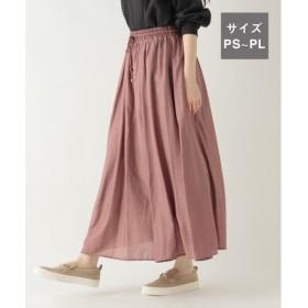 (studio CLIP/スタディオクリップ)ピケギャザースカート[プチサイズ]/ [.st](ドットエスティ)公式