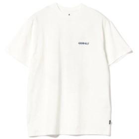 (BEAMS MEN/ビームス メン)GRAMICCI × BEAMS/別注 ビッグロゴ Tシャツ/メンズ WHITE