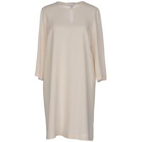 《セール開催中》BRUNELLO CUCINELLI レディース ミニワンピース&ドレス ベージュ M シルク 100%