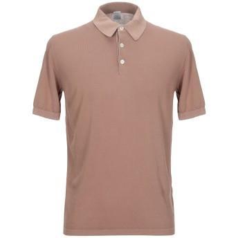 《セール開催中》ELEVENTY メンズ ポロシャツ カーキ S コットン 100%