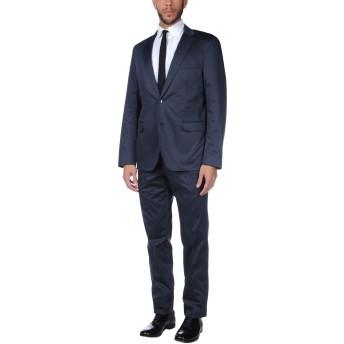 《セール開催中》PAOLONI メンズ スーツ ダークブルー 52 コットン 94% / ポリウレタン 6%