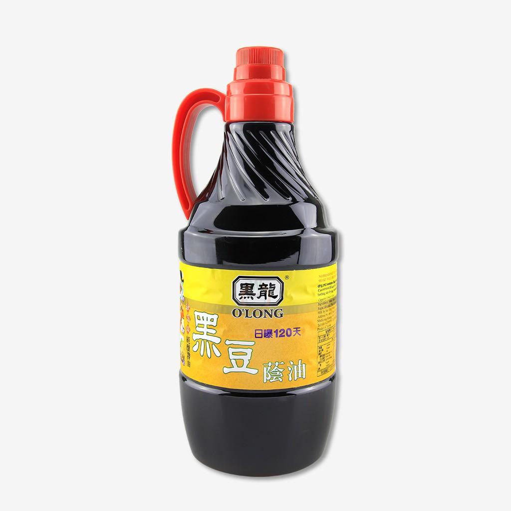 黑龍 【秋菊】 黑豆蔭油 (清油) 1.56L ( 總重 : 1970g ) / 罐