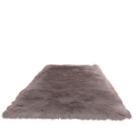 カーペット、長方形の豪華な敷物の寝室のベッドサイドテーブルフルショップかわいい部屋の装飾豪華な豪華な敷物 (Color : Gray, Size : 4545cm)