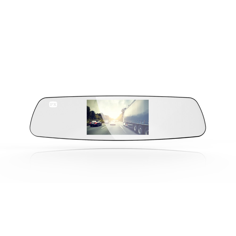 PX 大通 V70 後視鏡 GPS測速 行車紀錄器【2年保固】送安裝+32G+免運費 破盤王 台南