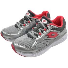 [LOTTO] ロット レディース ランニングシューズ ジョギング スポーツ スニーカー 靴 (25.2cm, シルバー)
