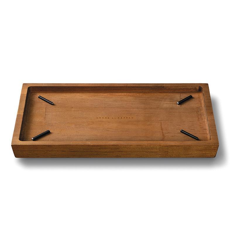 隔熱木托盤 大人的鐵板小型 專用