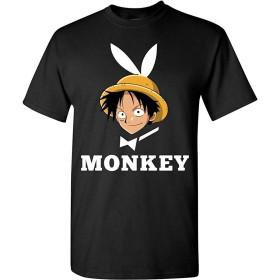 モンキー・D・ルフィプレイボーイバニーワンピースTシャツ