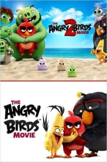 【停看聽音響唱片】【BD】憤怒鳥玩電影1+2 套裝
