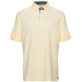 《セール開催中》GRAN SASSO メンズ ポロシャツ ライトイエロー 54 コットン 100%
