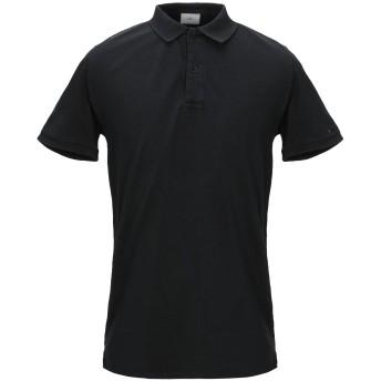 《セール開催中》PEUTEREY メンズ ポロシャツ ブラック M 95% コットン 5% ポリウレタン
