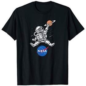 NASAバスケットボールミートボールロゴTシャツ