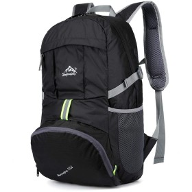Jikansakari 登山リュック バックパック 多機能 35L 大容量 登山用バッグ 富士登山 軽量 高通気性 リュックサック 山登り 泊旅行 海外旅行 防災 ハイキング 黒