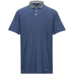 《セール開催中》HENRY COTTON'S メンズ ポロシャツ ブルー XXL コットン 100%
