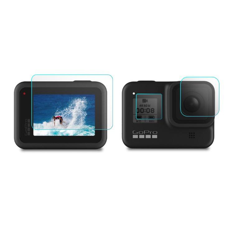【新品上市】GoPro Hero8 鋼化 玻璃 保護貼 一套3片(不含GOPRO8主機)