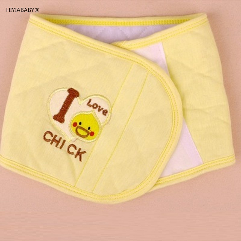 現貨 兒童肚圍嬰兒護肚腹圍夾棉護臍帶秋冬純棉寶寶護臍帶肚圍