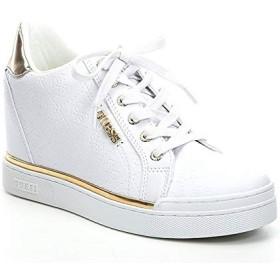 [ゲス] シューズ スニーカー Flowurs Embossed Logo Wedge Sneakers White レディース [並行輸入品]