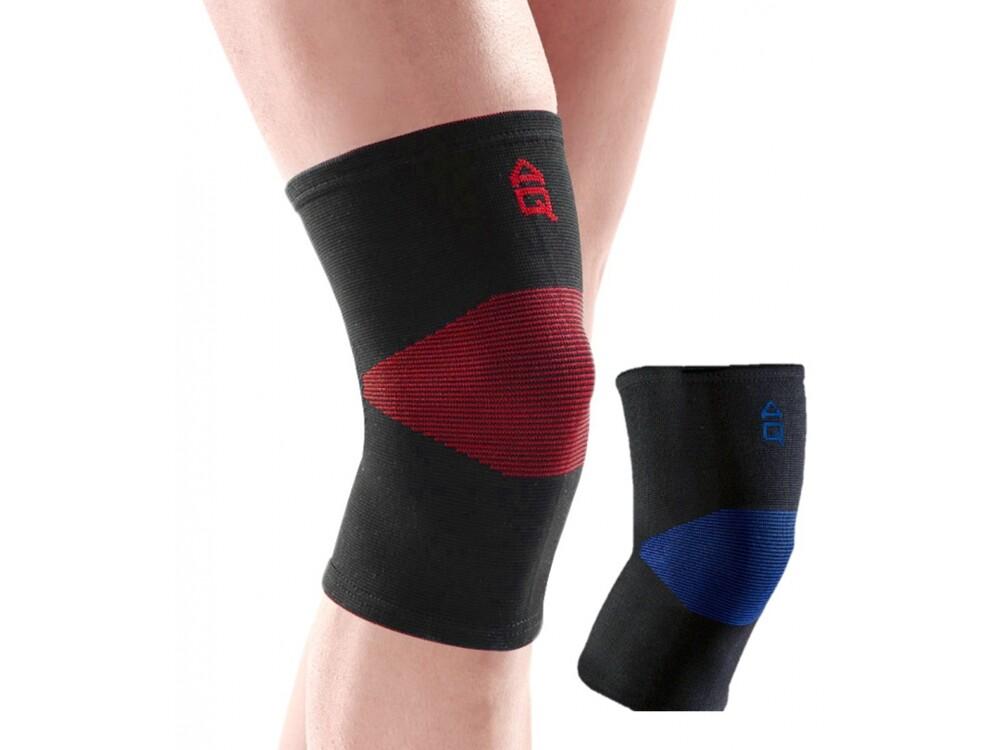 aq經典型針織護膝-黑藍色 l(型號:10502)原廠公司貨保證