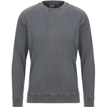 《セール開催中》R3D W D メンズ スウェットシャツ スチールグレー S コットン 100%