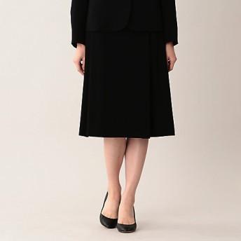 【SALE(伊勢丹)】<AMACA/アマカ>【Sサイズ~】【LADY SKIRT】ミッションダブルフェイスセミフレアースカート(V5S04103__) クロ【三越・伊勢丹/公式】