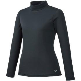 [Mizuno] トレーニングウェア ブレスサーモ ハイネックシャツ 吸湿発熱 細身 32MA9851 レディース ブラック 日本 XL (日本サイズXL相当)