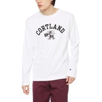 [チャンピオン] ロングスリーブTシャツ C3-Q424 メンズ ホワイト 日本 M (日本サイズM相当)