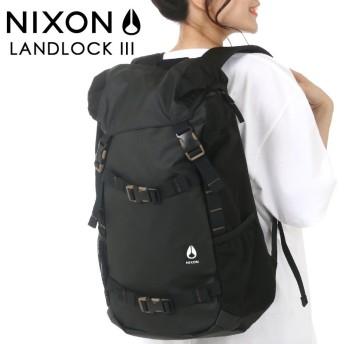 ニクソン NIXON ニクソンランドロック Landlock リュックサック リュック バックパック デイパック スケーター レディース メンズ ユニセックス 大容量 男女兼用 多収納 多機能 中学生