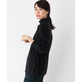 SHOO・LA・RUE/Mrs.(シューラルー/ミセス) スムース調ハイネックプルオーバー