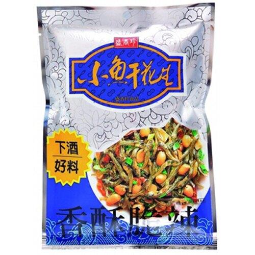 盛香珍 小魚干花生 80g【康鄰超市】